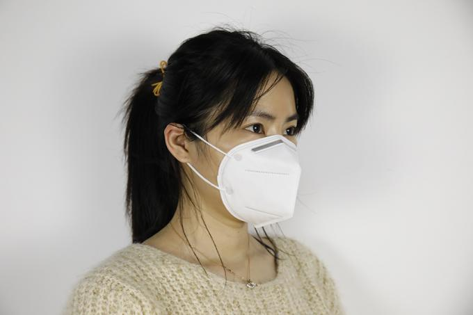 Particulate Pollution N95 Face Mask Ffp2 Ce Dust Pm10 Protective