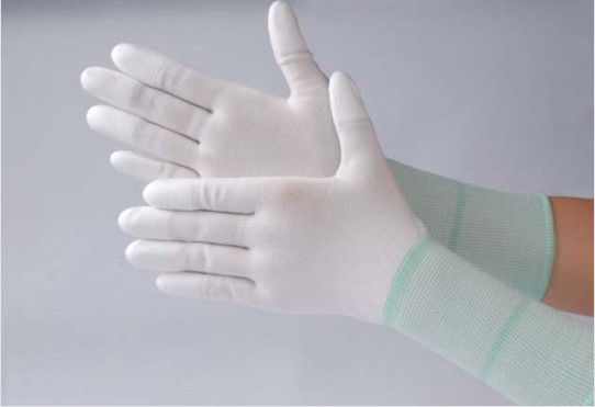 Washable Anti Static Gloves Durable Comfortable Safety ESD PU Top Fit Glove