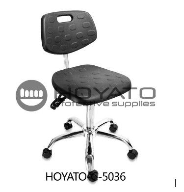 Anti Skid Ventilation ESD Safe Chairs , Comfortable Office Chair 360 Degree Rotation